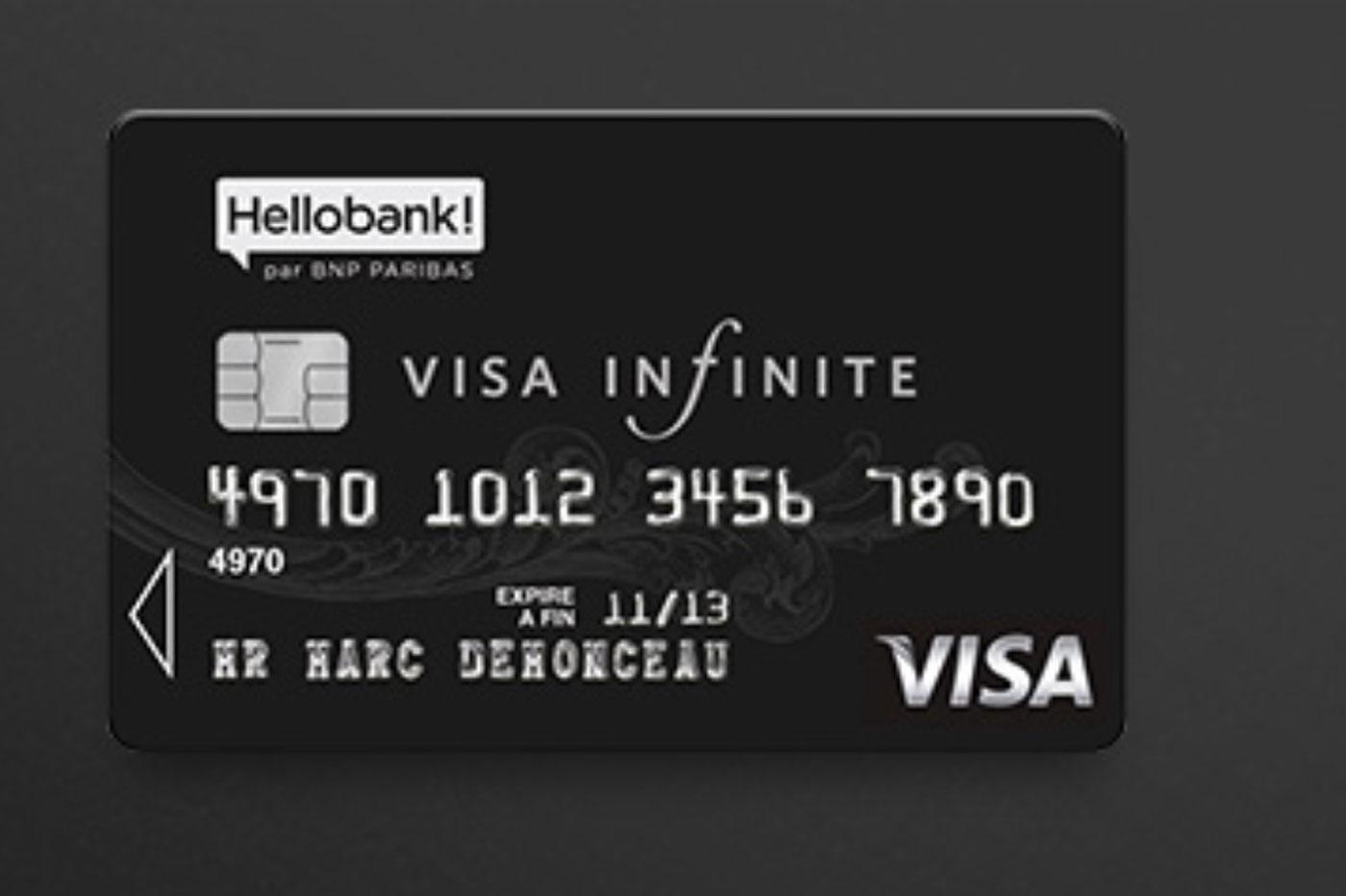 Carte Visa Infinite : comment en avoir une ?
