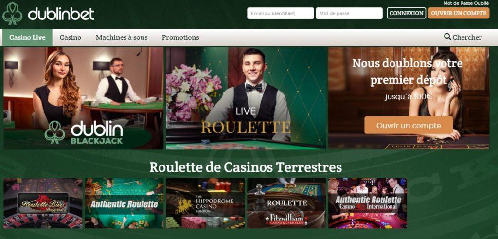 Casino dublinbet : le top des casinos à l'heure actuelle ? Notre avis