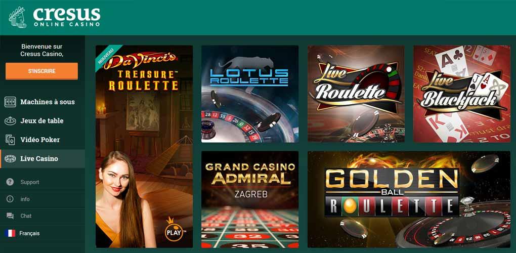 Casino cresus : le meilleur casino en ligne dans le futur ? Notre avis