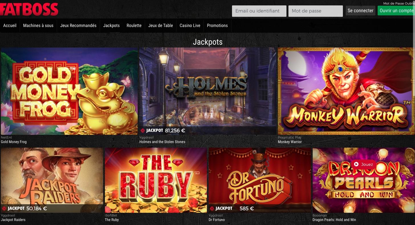 Casino fatboss : apporte-t-il un nouveau souffle dans le secteur du pari en ligne ? Notre avis