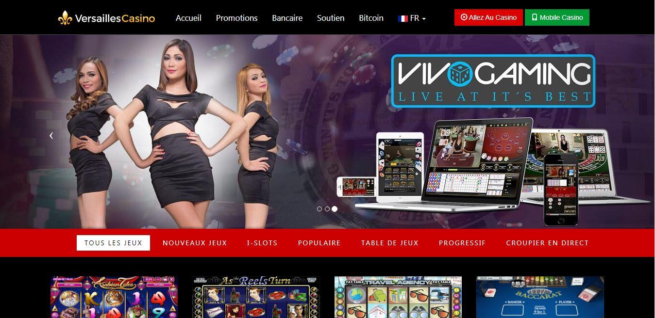 Casino Versailles : est-il bon de le tester ? Notre avis
