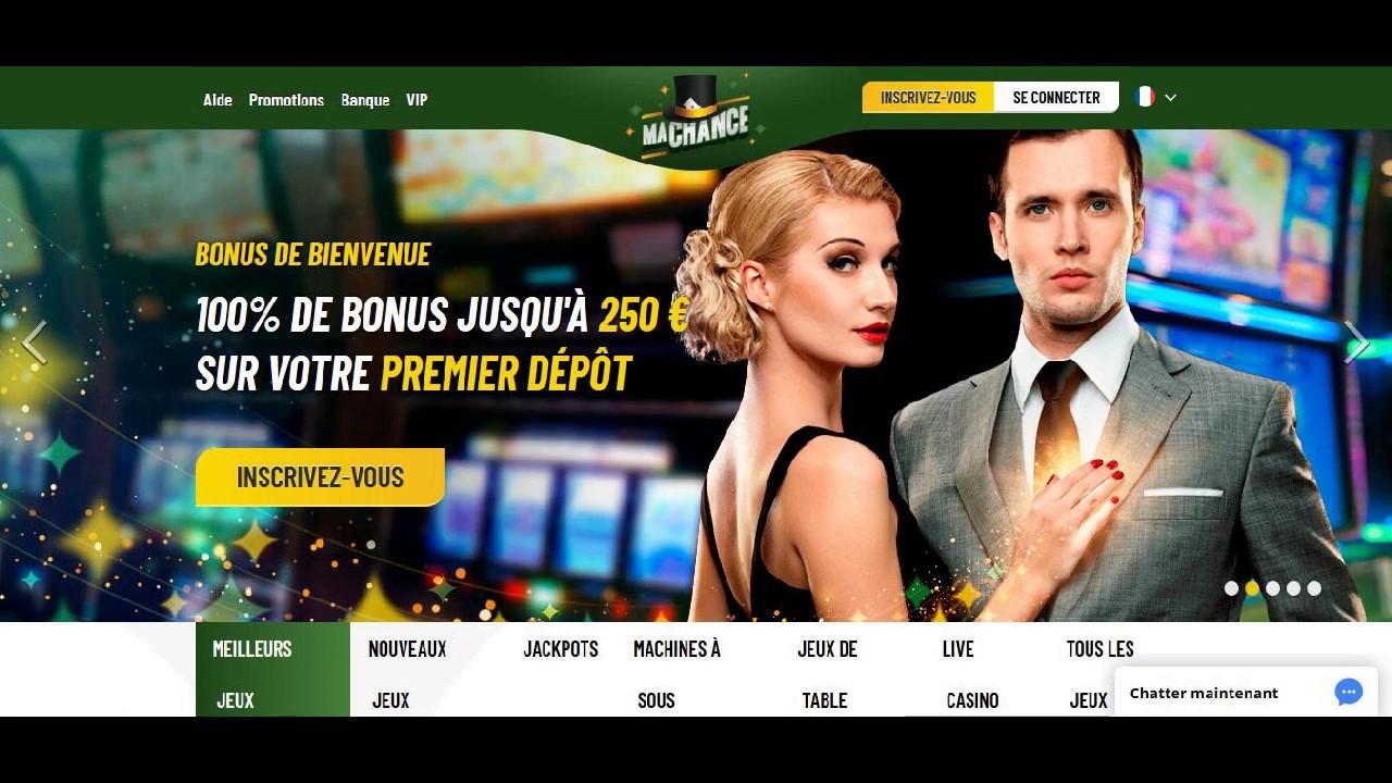 Notre avis sur vos chances de gagner sur machance casino